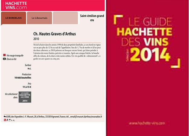 Notices du Guides des Vins